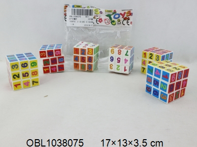 OBL1038075 - 6个庄魔方