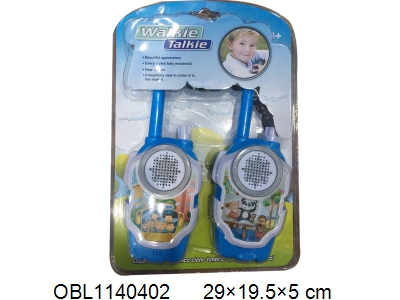 OBL1140402 - Cartoon Interphone 3 AA Batteries Unpacked 40 Frequencies