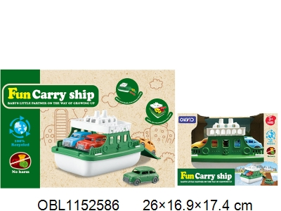 OBL1152586 - Dismantling and assembling ships with 4 taxis