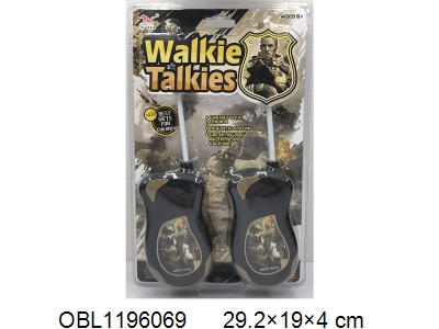 OBL1196069 - One 9-volt battery of walkie talkie without power package 49 frequency