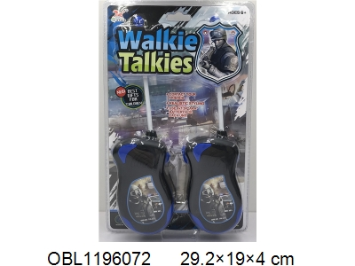 OBL1196072 - One 9-volt battery of walkie talkie without power package 49 frequency