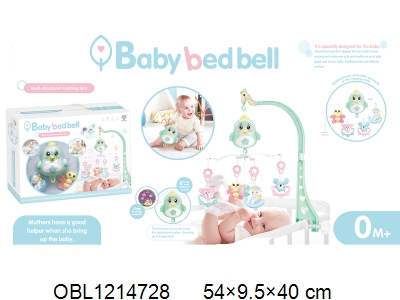 OBL1214728 - Electric bedside bell suit with light and music
