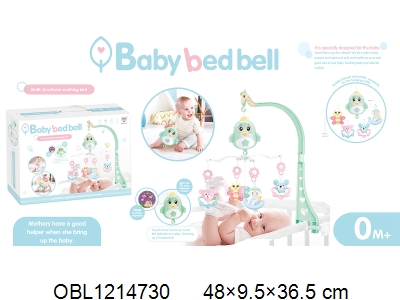 OBL1214730 - Electric bedside bell suit with light and music