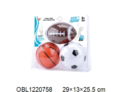 OBL1220758 - 3-ball basketball / football / rugby
