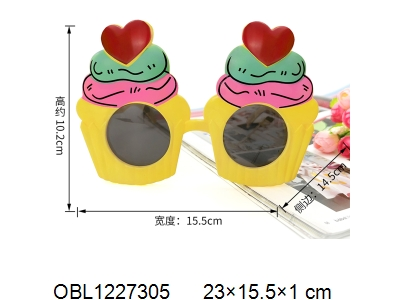 OBL1227305 - Love glasses