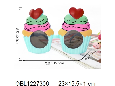 OBL1227306 - Love glasses