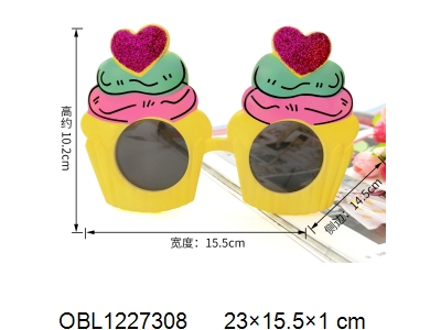 OBL1227308 - Love glasses