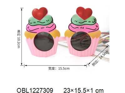OBL1227309 - Love glasses