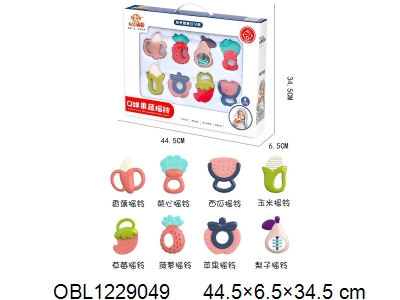 OBL1229049 - 8 Chuang baby s gum rattle in Chinese