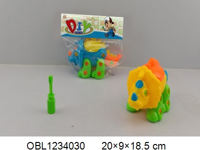 OBL1234030 - Disassembly and assembly of cartoon Jianlong 3 colors