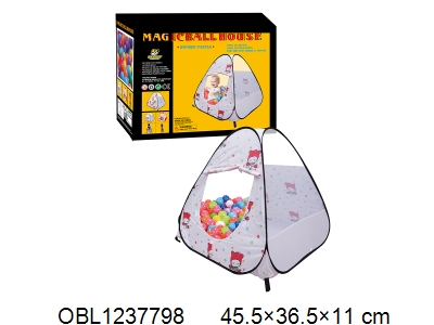 OBL1237798 - Children s tent with 100 balls