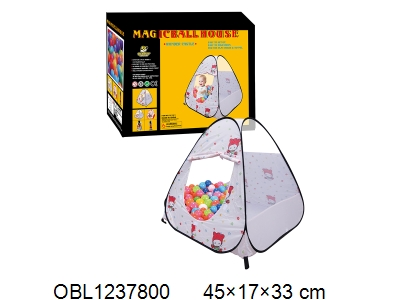 OBL1237800 - Children s tent with 100 balls