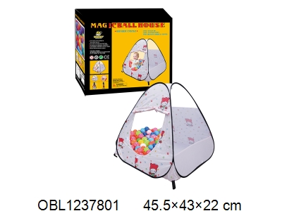 OBL1237801 - Children s tent with 200 balls