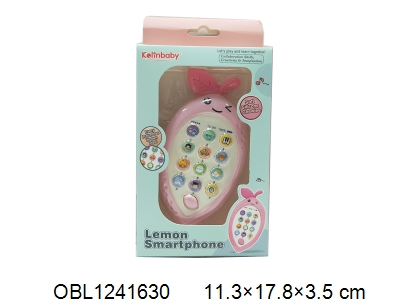 OBL1241630 - Children s mobile phone with light and music without battery