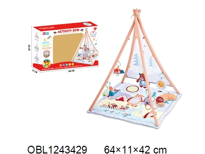 OBL1243429 - Children s tent with music and 20 ocean balls 2 * AAA without power package