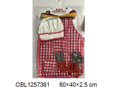 OBL1257361 - Chef suit 2 * AA without battery pack