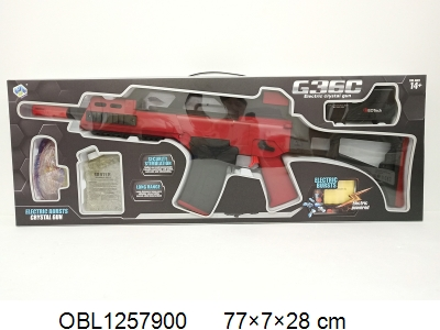 OBL1257900 - Electric water bomb gun with charger 6V
