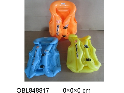 OBL848817 - The lifejacket shipped without charging 3 colors mixed