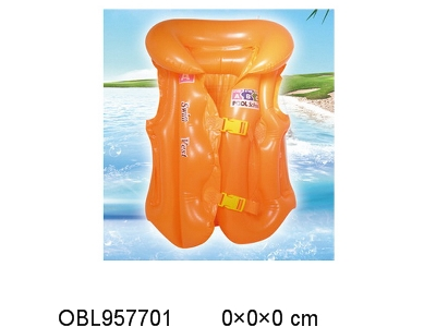OBL957701 - Large inflatable swimming suit shipped without inflatable blue and yellow orange 3 colors mixed