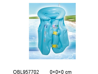 OBL957702 - Inflatable swimming suit medium shipment inflatable 3 colors mixed blue and yellow orange