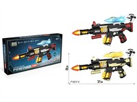 OBL1266096 - Electric gun with light, sound and strap no function aircraft
